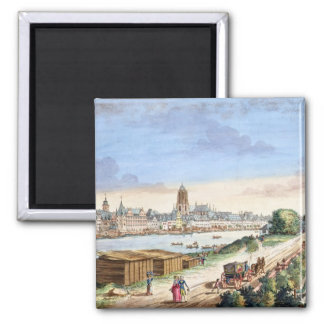 View of the Town of Frankfurt, facing south (print Magnet