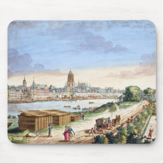 View of the Town of Frankfurt, facing south (print Mouse Pad
