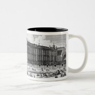 View of the Trautson Palace built for Count Two-Tone Coffee Mug