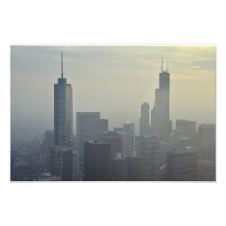 View of the Trump and Willis Towers Photo Print