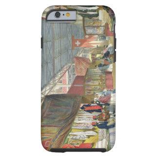 View of the Tunisian stand, at the Great Exhibitio Tough iPhone 6 Case
