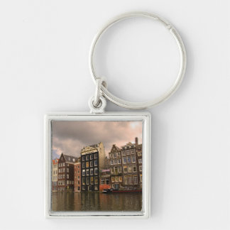View of the unique architecture and gabled keychain