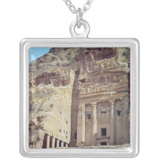 View of the Urn Tomb Silver Plated Necklace