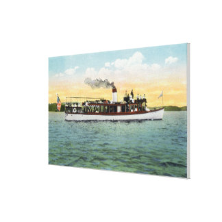 View of the US Mail Boat Uncle Sam Canvas Print