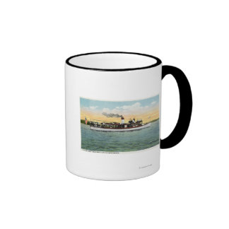 View of the US Mail Boat Uncle Sam Ringer Mug