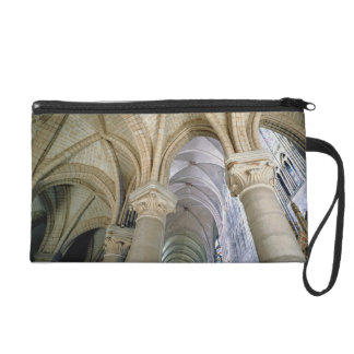 View of the vaulting in the ambulatory, c.1140-44 wristlet purse