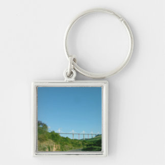 View of the viaduct, completed in December 2004 (p Keychain