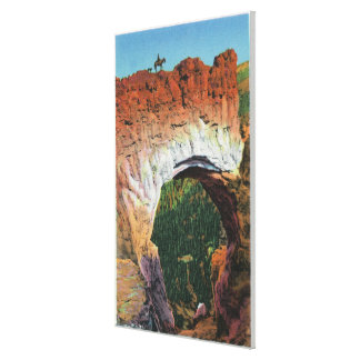 View of the Victorian Arch Stretched Canvas Print