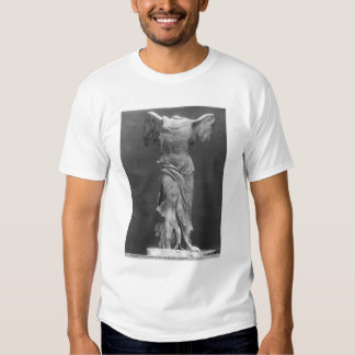 View of the Victory Samothrace in Louvre museum T Shirt