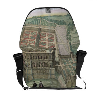 View of the Villa Farnese and the Gardens, from 'C Courier Bag