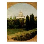 View of the Villa Medici, Rome Postcard