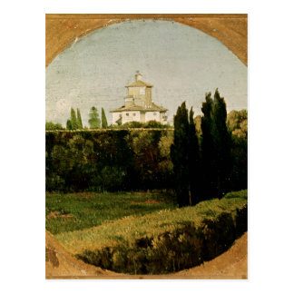 View of the Villa Medici Rome Post Cards