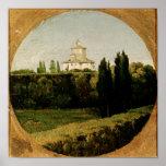 View of the Villa Medici, Rome Print