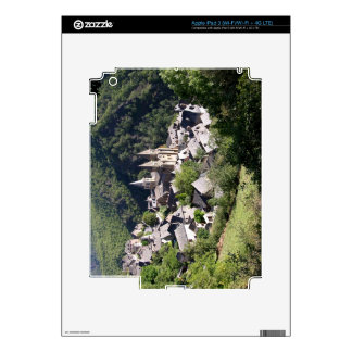 View of the village and the Church of St. Foy (pho iPad 3 Decal
