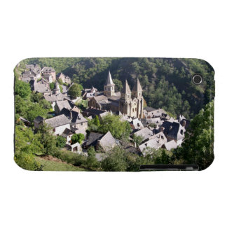 View of the village and the Church of St. Foy (pho iPhone 3 Case-Mate Cases