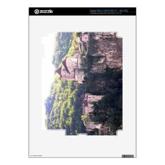 View of the village and the church (photo) 2 iPad 3 decal