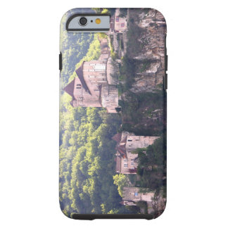 View of the village and the church (photo) 2 tough iPhone 6 case