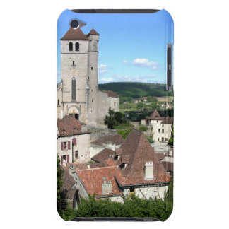 View of the village and the church (photo) barely there iPod case