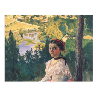 View of the Village, Frederick Bazille Postcard