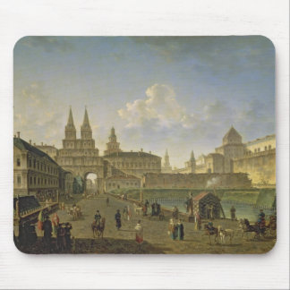 View of the Voskresensky and Nikolsky Gates Mouse Pad