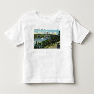 View of the Waldo-Hancock Bridge Toddler T-shirt