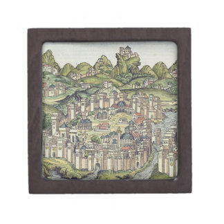 View of the walled city of Constantinople, from th Gift Box