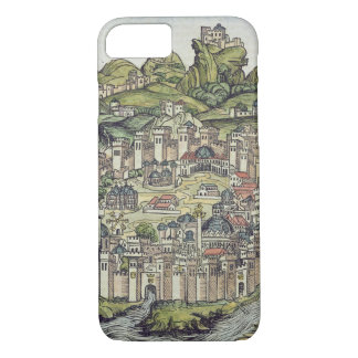 View of the walled city of Constantinople, from th iPhone 7 Case