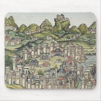 View of the walled city of Constantinople, from th Mouse Pad