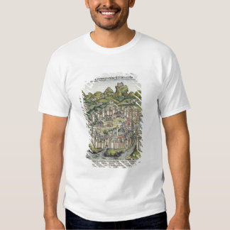 View of the walled city of Constantinople, from th T-Shirt