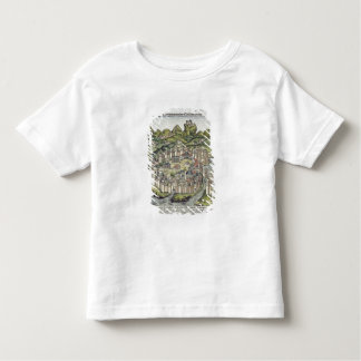 View of the walled city of Constantinople, from th Toddler T-shirt