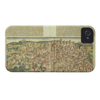 View of the walled city of Florence, from the Nure Case-Mate iPhone 4 Case