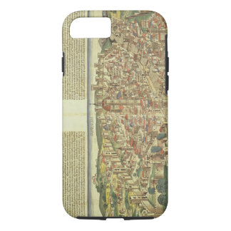 View of the walled city of Florence, from the Nure iPhone 8/7 Case