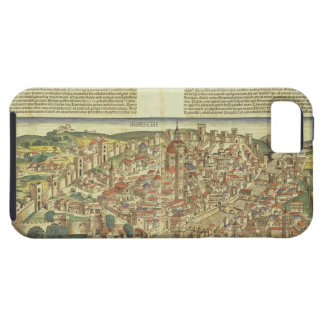 View of the walled city of Florence, from the Nure iPhone SE/5/5s Case