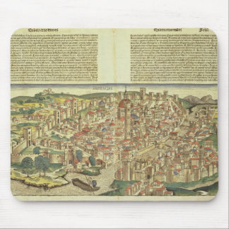View of the walled city of Florence, from the Nure Mouse Pad