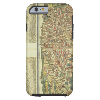 View of the walled city of Florence, from the Nure Tough iPhone 6 Case