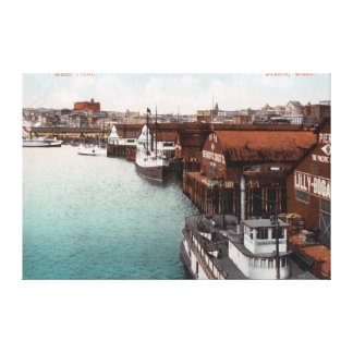 View of the Waterfront Canvas Print