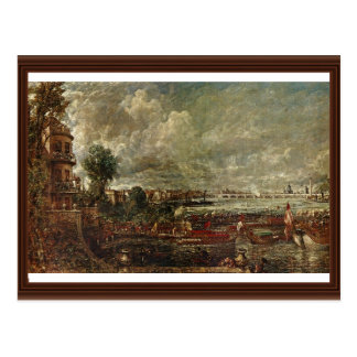 View Of The Waterloo Bridge From Whitehall Stairs Postcard