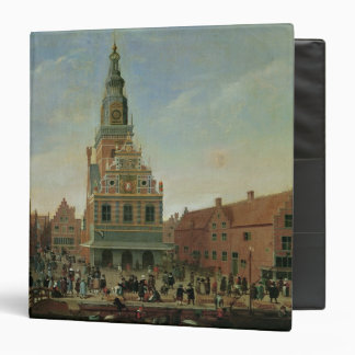 View of the Weighhouse and the Cheese Market 3 Ring Binder