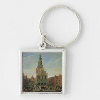 View of the Weighhouse and the Cheese Market Keychain