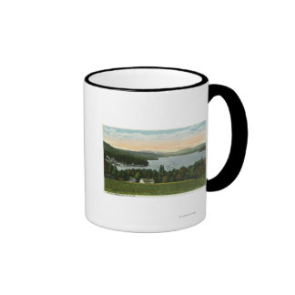View of the Weirs Ringer Coffee Mug