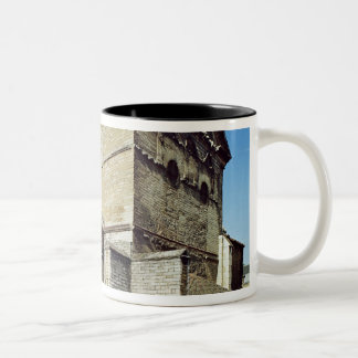View of the West apse and the apsidiole Two-Tone Coffee Mug