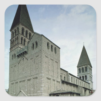 View of the west facade, 10th-11th century square sticker