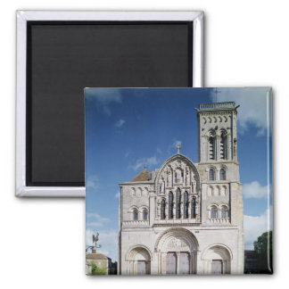 View of the west facade 2 inch square magnet