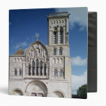 View of the west facade 3 ring binder