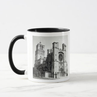 View of the west facade and tower mug