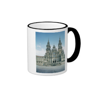 View of the west facade, built 1738-50 ringer coffee mug
