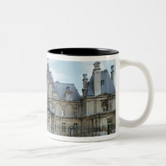 View of the West facade of Chateau de Maisons Two-Tone Coffee Mug