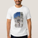 View of the west facade shirt