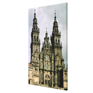 View of the West Front  1738-50 Canvas Print