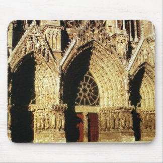 View of the West Front portals Mousepads